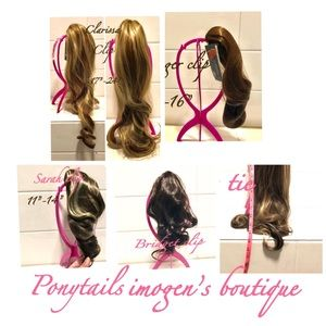 Other - Fabulously glam ponytails in assorted color length